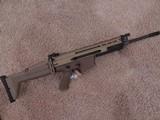 FNM SCAR 17S 308 FLAT DARK EARTH
