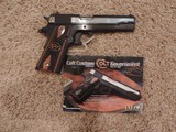 COLT CUSTOM GOVERNMENT ONE OF 300 TALO EXCLUSIVE #120
