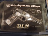 COLT AZTEC JAGUAR AZUL 38 SUPER TALO 1 OF 300