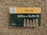 SELLIER & BELLOT 6.5X57 SP 131GRS