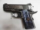 COLT COMBAT ELITE DEFENDER 45 HAND ENGRAVED***SOLD