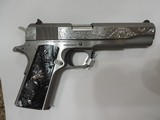 COLT O1911C-SS38 HAND ENGRAVED NEW***SOLD