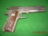 Remington Rand M 1911 CMP service grade in 45 acp with all papers and a cmp pelican case - 4 of 8