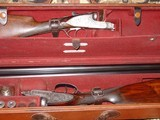"""E.J. Churchill Sidelock Ejector (matched pair) Toplever Double Barrel 12 bore 2 1/2"""" game guns - 14 of 15"""