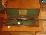 j. purdey double barrel hammer muzzleloader (12 bore ball gun)