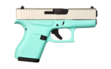 Glock 43 9mm Robin Egg Blue