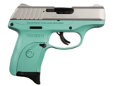 Ruger EC9s Turquoise Grip Stainless Slide 03286
