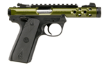 Ruger Mark IV .22LR Lite Green Anodized 43916