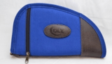 Colt 11in Blue Canvas Leather Gun Rug Soft Case!