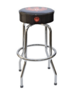 Ruger 10/22 Black and Red Bar Stool Free Shipping