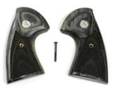 Colt Python Target Silverblack Grips