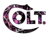 Colt Firearms Muddy Girl Sticker
