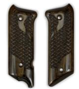 Ruger Mark III Basket Weave Super Walnut Grips.
