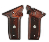 S&W 22 Victory Super Rosewood Checkered Grips
