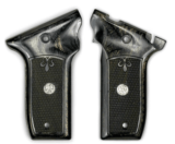 S&W 22 Victory Silver Black Grips