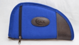 Colt 14in Blue Canvas Leather Gun Rug Soft Case!