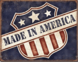 Made in America Tin Sign Free Shipping
