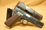 NAZI HIGH POWER 1943 DATED RIG TWO MAGS NICE! - 15 of 15