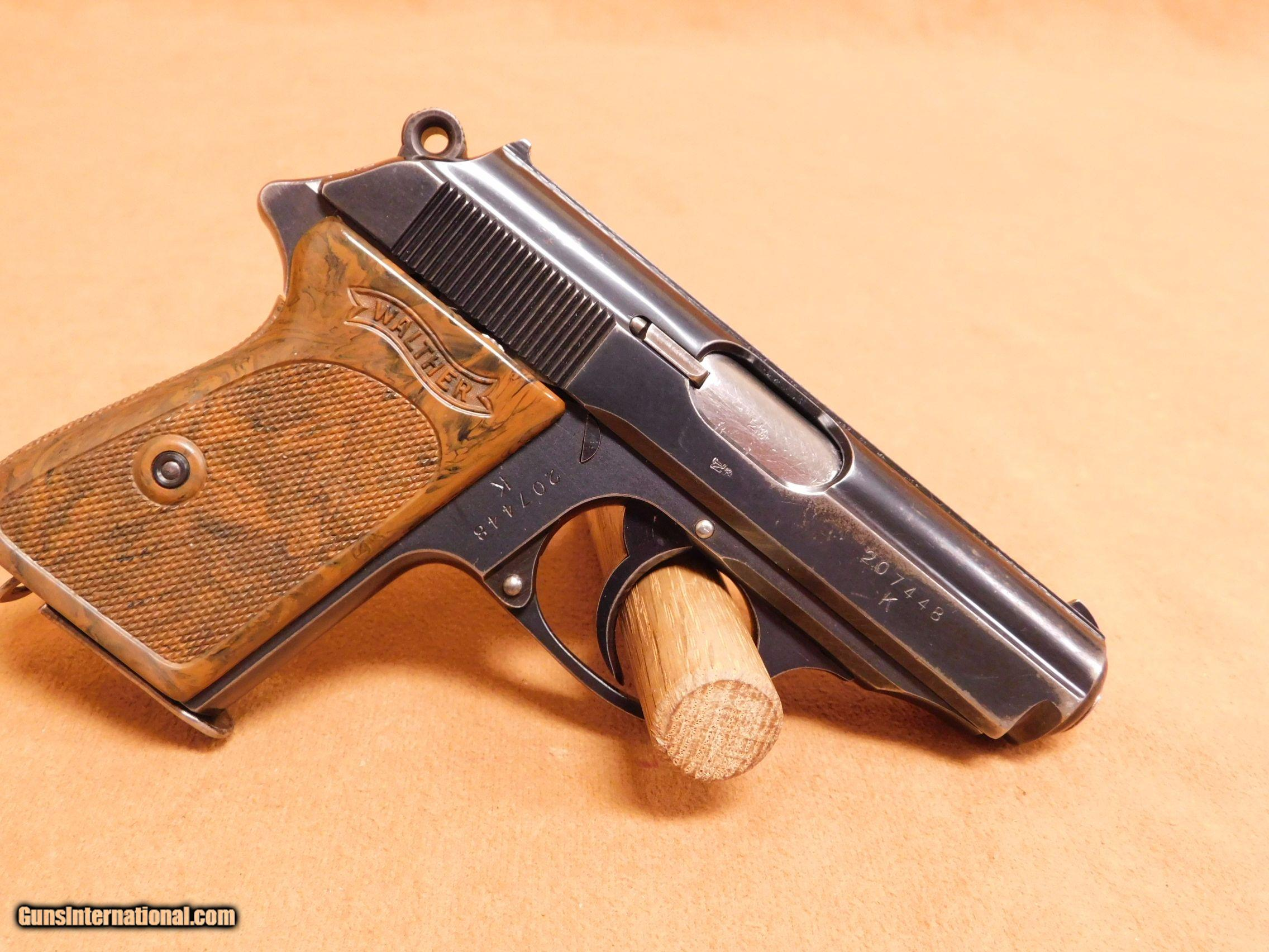 SS Walther PPK (K UNDER) Nazi German WW2
