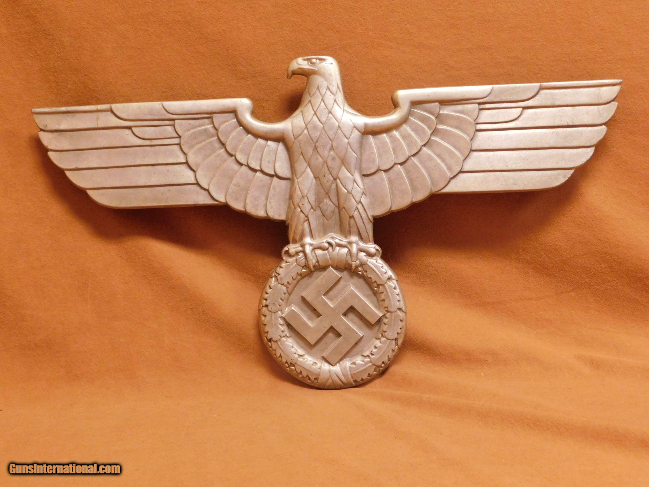 UN-ISSUED Nazi Train Car Eagle German Railroad WW2