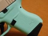 Glock 43 (Tiffany/Robins Egg Blue Cerakote) G43 - 2 of 8