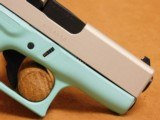 Glock 43 (Tiffany/Robins Egg Blue Cerakote) G43 - 8 of 8