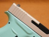 Glock 43 (Tiffany/Robins Egg Blue Cerakote) G43 - 7 of 8