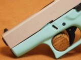 Glock 43 (Tiffany/Robins Egg Blue Cerakote) G43 - 4 of 8