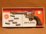 Colt Single Action Army 2nd Gen in Stagecoach Box