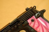 Sig Sauer P238 Pink Pearl, Blued, Engraved 380 ACP - 3 of 10