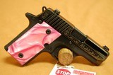 Sig Sauer P238 Pink Pearl, Blued, Engraved 380 ACP - 5 of 10