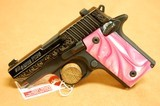 Sig Sauer P238 Pink Pearl, Blued, Engraved 380 ACP - 1 of 10