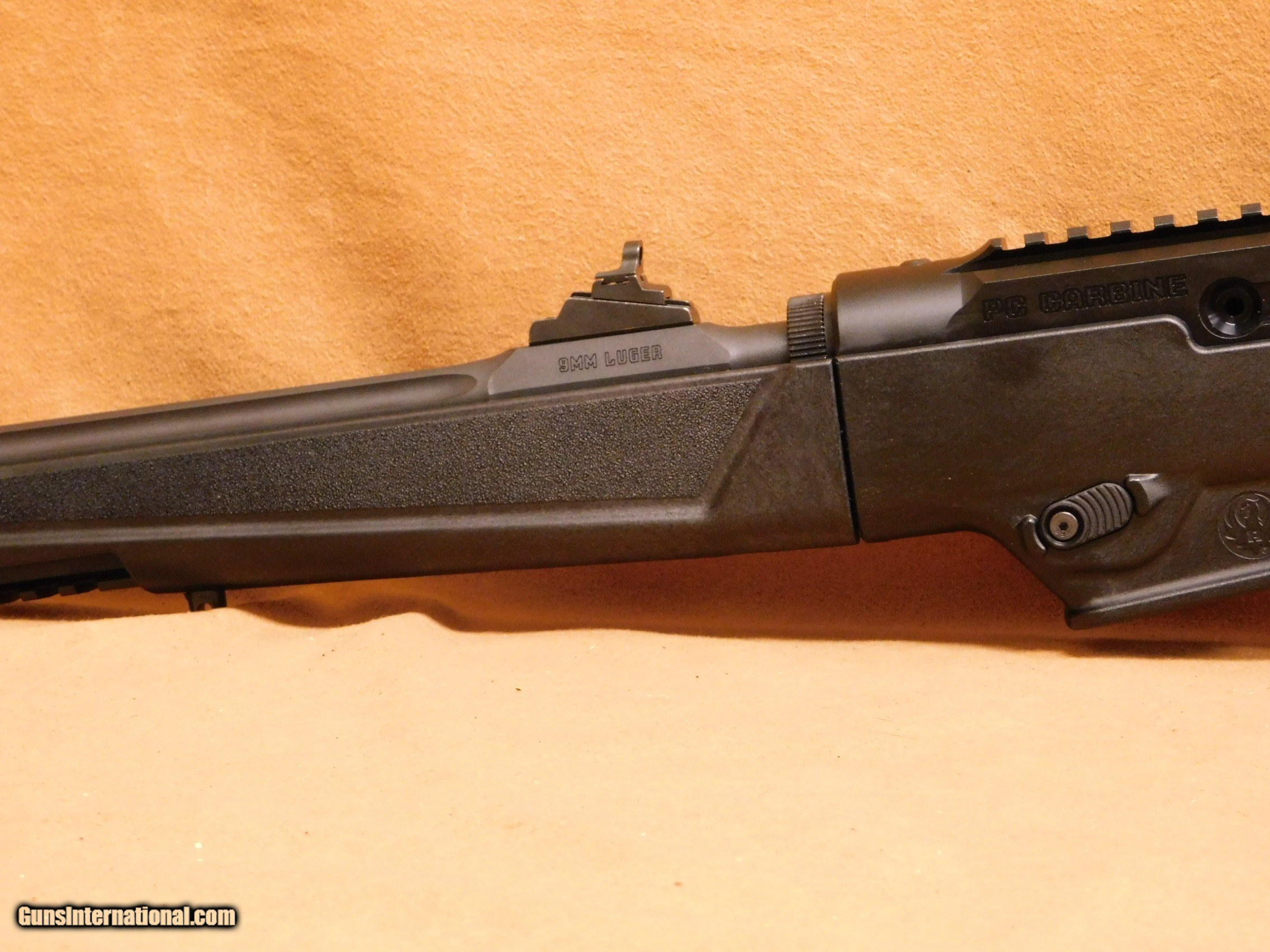 Ruger PC Carbine (Fluted, Threaded, Glock Mags)