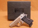 Walther/Interarms PPK Stainless, Factory Error Box