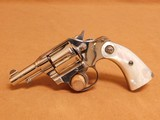 Colt Police Positive 2-1/2-inch, Nickel, Factory Pearl