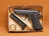 Walther-Interarms PPK/S 1970 (Box, Papers, Target) Early West Germany Import to Alexandria, VA