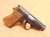 Walther PPK Type 5 (SS Issue w/ Matching Mag) Nazi