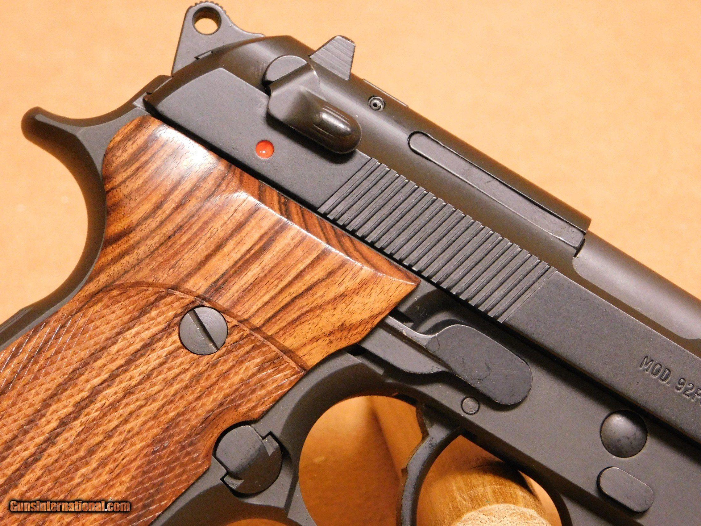 Beretta 92FS (Black, Hogue Kingwood Grips) 92 FS for sale