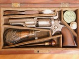 ENGRAVED Colt Model 2 Root 1855 Percussion w/ Case