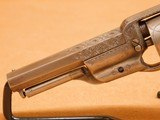 ENGRAVED Colt Model 2 Root 1855 Percussion w/ Case - 5 of 24