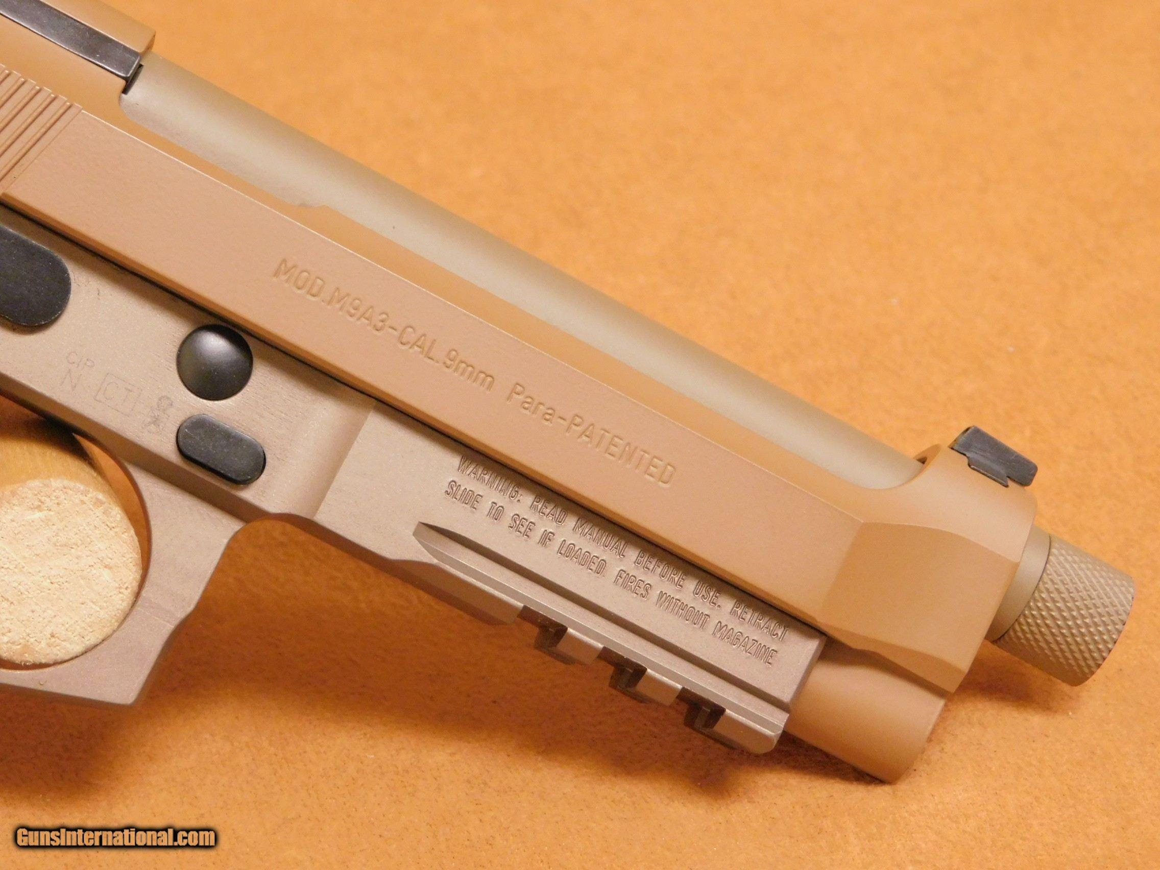 Beretta M9A3-G (M9 A3, J92M9A3GM)