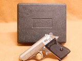 Walther/Interarms PPK (Stainless .380 Auto w/ box)
