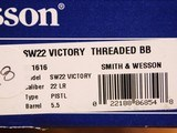 Smith & Wesson SW22 Victory Threaded Barrel 10201 - 15 of 16