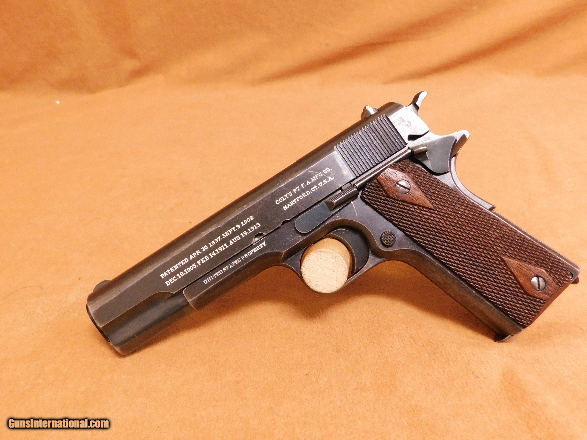 SCARCE Colt & Springfield Armory 1911 WW1 mfg 1916 for sale