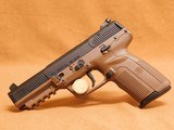 FN Five-seveN MKII FDE 20 Round, Adj Sights - 2 of 12