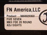 FN Five-seveN MKII FDE 20 Round, Adj Sights - 11 of 12