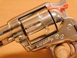 Colt SAA 2nd Gen Nickel w/ Stagecoach Box (1970) - 5 of 14