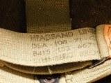 US Vietnam-Era M1C Paratrooper Helmet & Liner - 7 of 8
