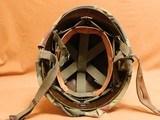 US Vietnam-Era M1C Paratrooper Helmet & Liner - 6 of 8