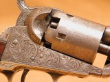 Colt 1849 Pocket (Gustav Young Engraved, 5-inch, w/ Case, Extras) - 14 of 25